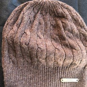Polo wool hat. Brown